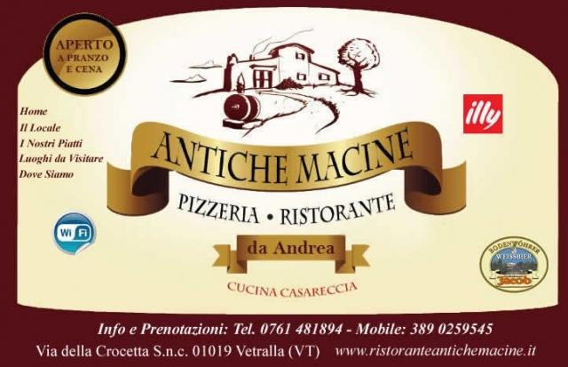 Ristorante Pizzeria Antiche Macine